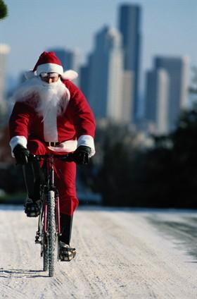 Babbo Natale In Bicicletta.Lettera A Babbo Natale Amici Della Bici Rovigo Fiab